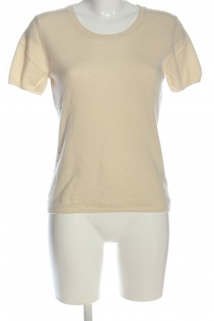 FTC Cashmere Cashmerepullover creme Casual-Look