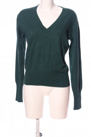 FTC Cashmere Cashmere Jumper green business style