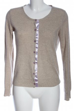 FTC Cashmere Cashmerepullover creme meliert Casual-Look