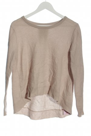 FTC Cashmere Cashmere Jumper natural white flecked casual look