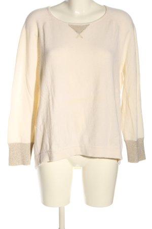 FTC Cashmere Pullover in cashmere crema stile casual