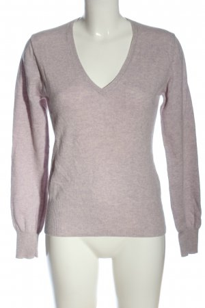 FTC Cashmere Cashmere Jumper pink flecked casual look
