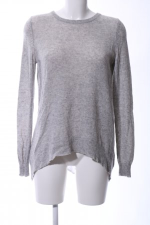 FTC Cashmere Cashmere Jumper light grey flecked casual look