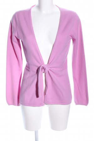 FTC Cashmere Cashmerepullover pink Casual-Look