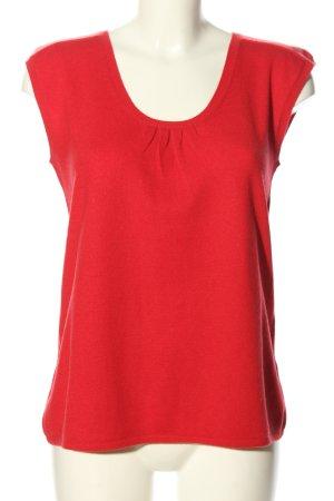 FTC Cashmere Fijn gebreide cardigan rood zakelijke stijl
