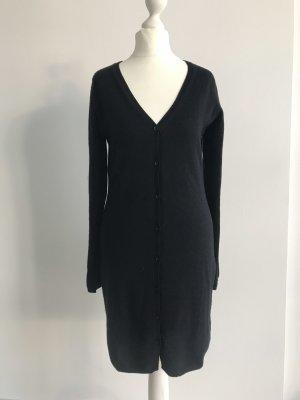 FTC Cashmere Knitted Coat black
