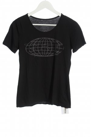 FTC Cashmere Print Shirt black themed print casual look