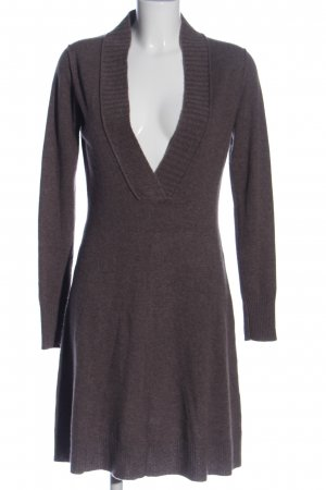 FTC Cashmere Sweaterjurk bruin casual uitstraling