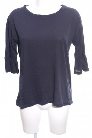 FTC Cashmere Shirt Tunic blue casual look