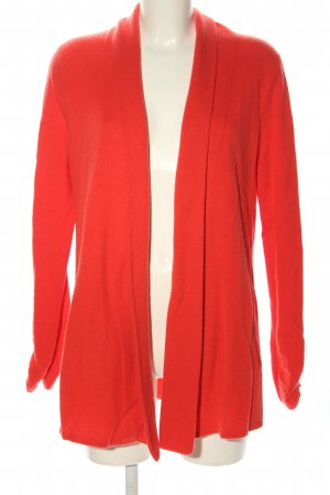 FTC Cashmere Strick Cardigan rot Casual-Look