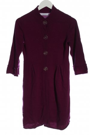 FTC Cashmere Knitted Coat pink casual look