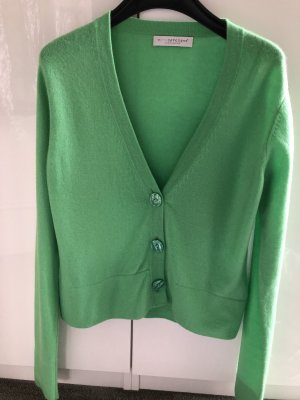 FTC Cashmere Cardigan lime-green