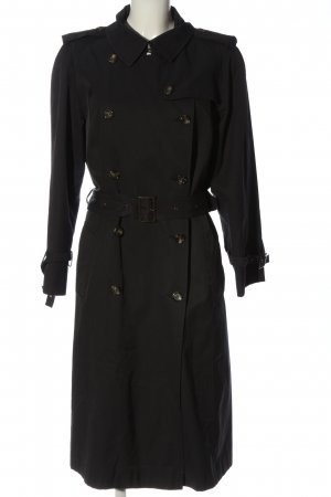 Fuchs Schmitt Heavy Pea Coat black casual look
