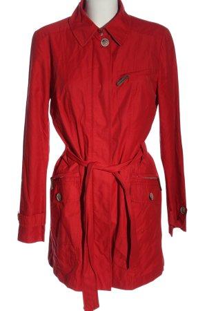 Fuchs Schmitt Heavy Pea Coat red casual look