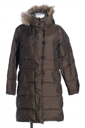 Fuchs Schmitt Down Coat bronze-colored quilting pattern business style