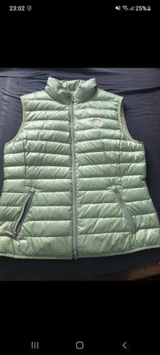 Fuchs Schmitt Down Vest pale green mixture fibre