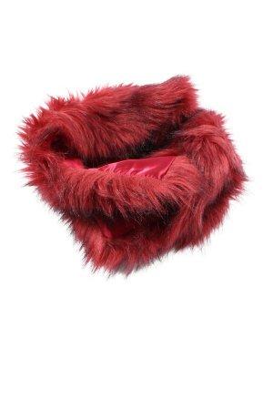 Fuchs Schmitt Écharpe tube rouge style décontracté