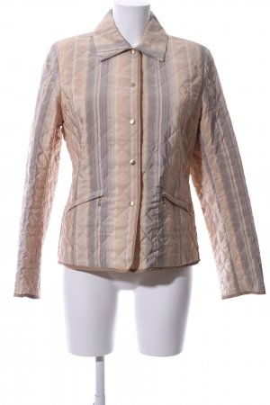 Fuchs Schmitt Quilted Jacket nude-brown quilting pattern casual look