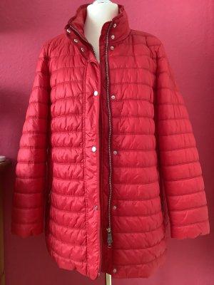 Fuchs Schmitt Manteau en duvet rouge-rouge brique polyester