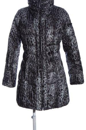 Fuchs Schmitt Cappotto invernale grigio chiaro-nero Stampa leopardata