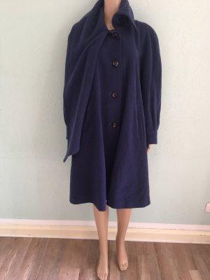 Fuchs Schmitt Wool Coat blue-dark blue