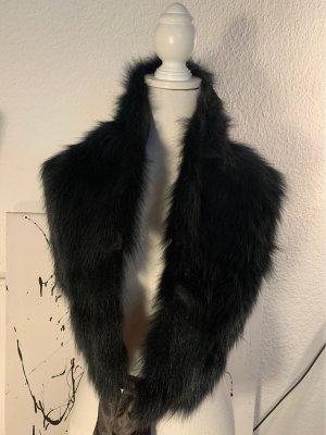 Cashmere Scarf dark blue-slate-gray
