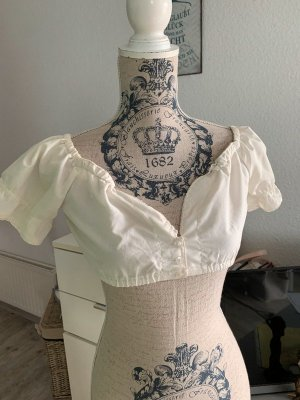 Fuchs Trachtenmoden Blusa tradizionale bianco