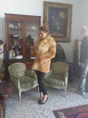 Pelt Jacket beige-light brown pelt