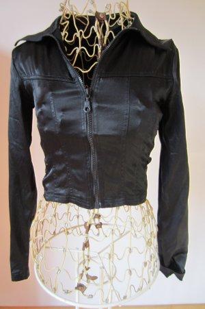 Giacca-camicia nero Sintetico
