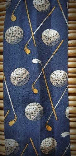 Für Golf-Fans: Schmaler Seiden(?) -Schal oder -Gürtel