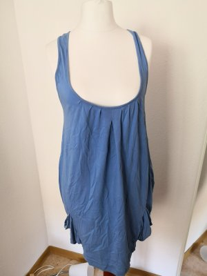 Spanky vestido de globo azul aciano