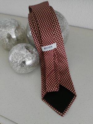 Hugo Boss Casual Cravat cream-russet