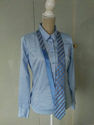 Tommy Hilfiger Casual Cravat natural white-baby blue