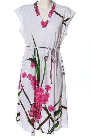 Fürstenberg Jerseykleid Blumenmuster Casual-Look