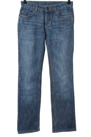 Fuga Straight-Leg Jeans blau Casual-Look