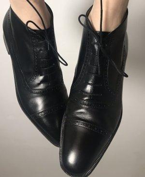 Style Shoes Stivaletto stringato nero