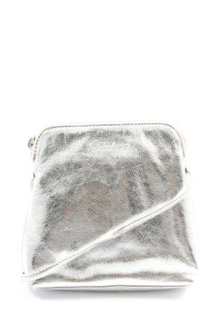 Funbag Minitasje zilver casual uitstraling