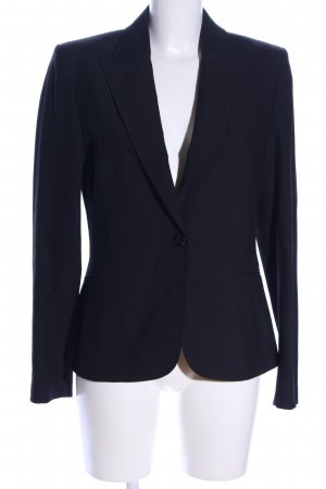 FundamentalS Long-Blazer schwarz Business-Look