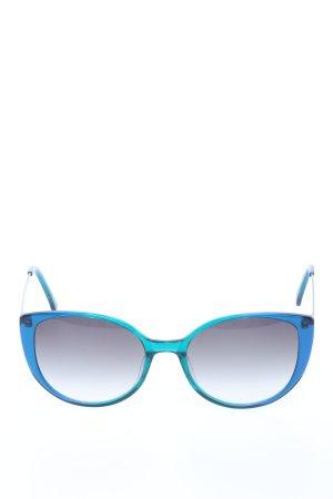 FUNK Food Eyewear Bril blauw-turkoois kleurverloop casual uitstraling