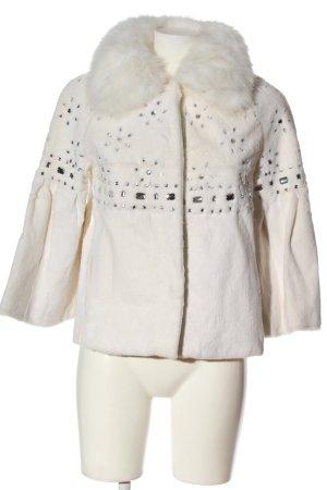 Funk Pelt Coat white casual look
