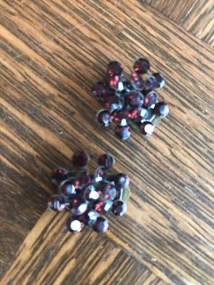 Konplott Earclip bordeaux-carmine