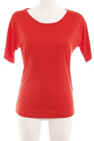 Funktion Schnitt T-Shirt rot Casual-Look