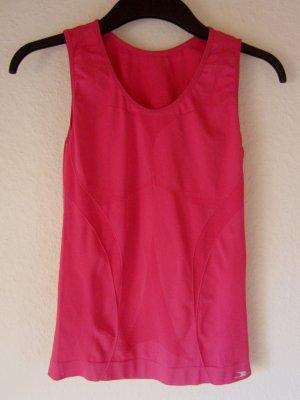 Funktionelles Sport-Unterhemd in leuchtenden Pink