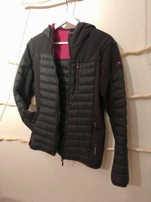 CMP Outdoor Jacket grey-raspberry-red
