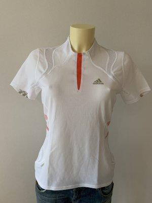 Adidas Sportshirt wit-oranje