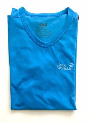 Jack Wolfskin Sportshirt neon blauw