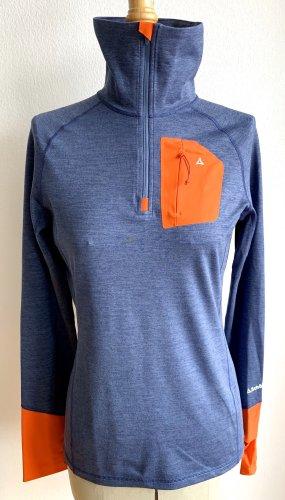 Schöffel Maglietta sport blu acciaio-rosso chiaro