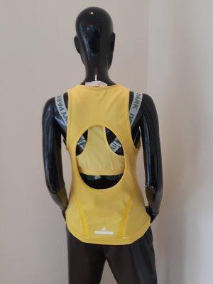 Adidas by Stella McCartney Sports Tank yellow polyamide