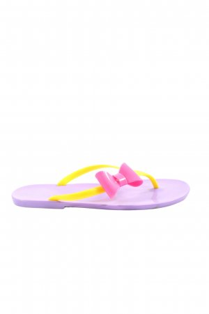Funky Shoes Flip-Flop Sandals multicolored casual look