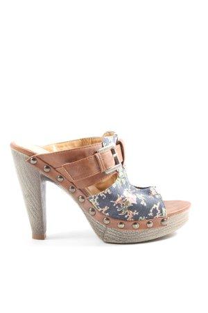 Funky Shoes Plateau-Sandaletten